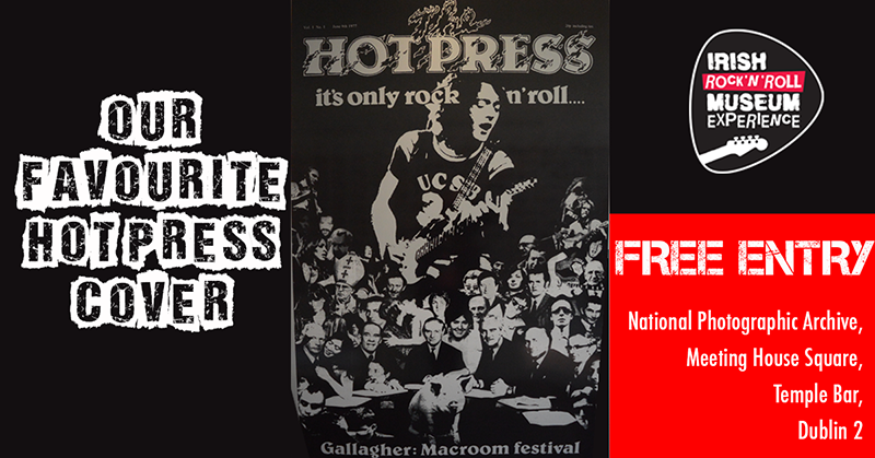 Hot Press Magazine – The biggest influencer in the Irish Music Industry is  40 years old