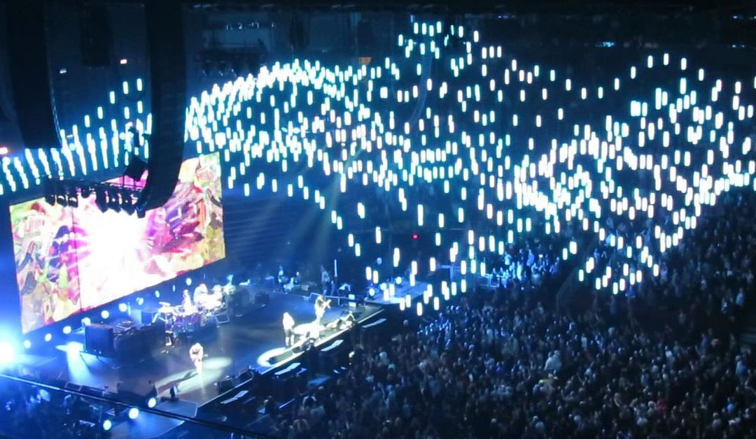 Red Hot Chili Peppers in Dublin