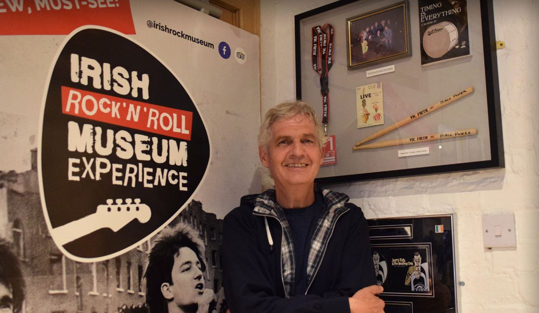 Niall Power | The Man of Many Bands | New Donation to The Irish Rock N Roll Museum
