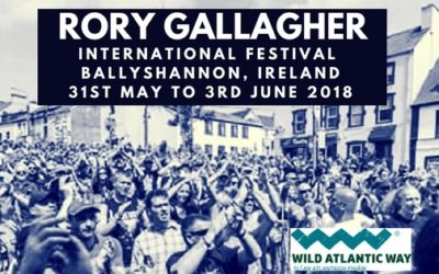 Rory Gallagher Festival 2018
